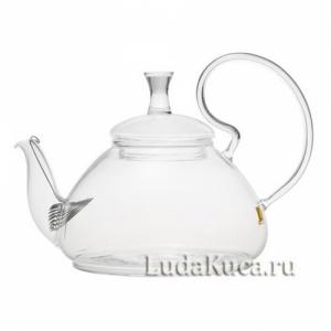 """Чайник стеклянный """"Георгин"""""""