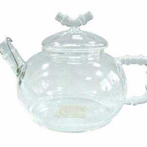 Стеклянный чайник Бамбук